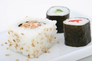 sushi rice dish