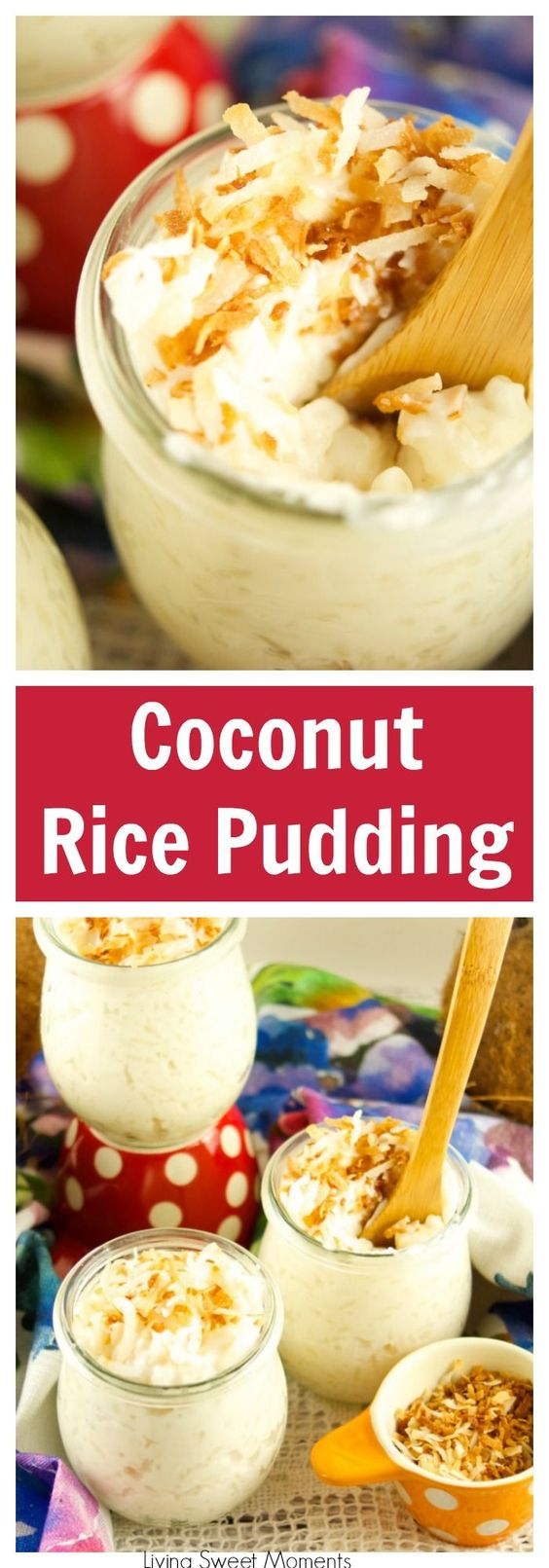 For a sweet dessert rice recipe, try this coconut rice pudding. Easy to make.