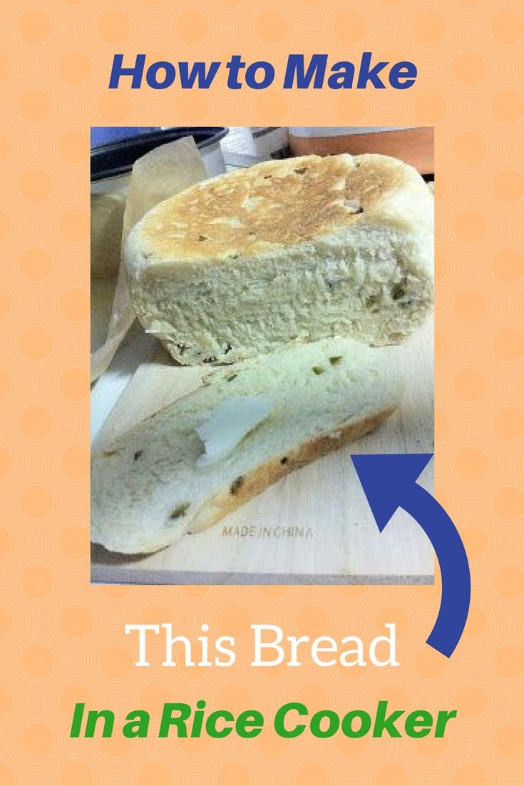 Even bread can be made in a rice cooker. If you need to save space in your kitchen, don't bother buying a bread making appliance, just use your rice cooker.