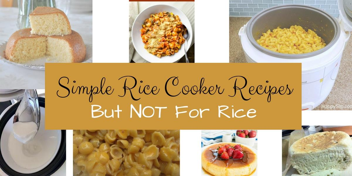 Use Rice Cooker To Make Cake