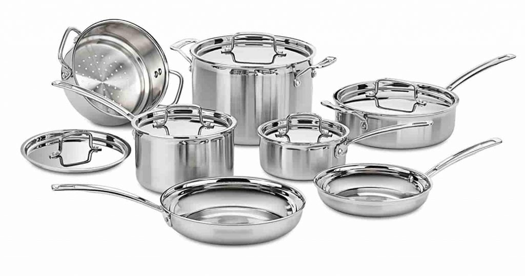 Best Induction Cookware Sets Cuisinart Stainless Steel
