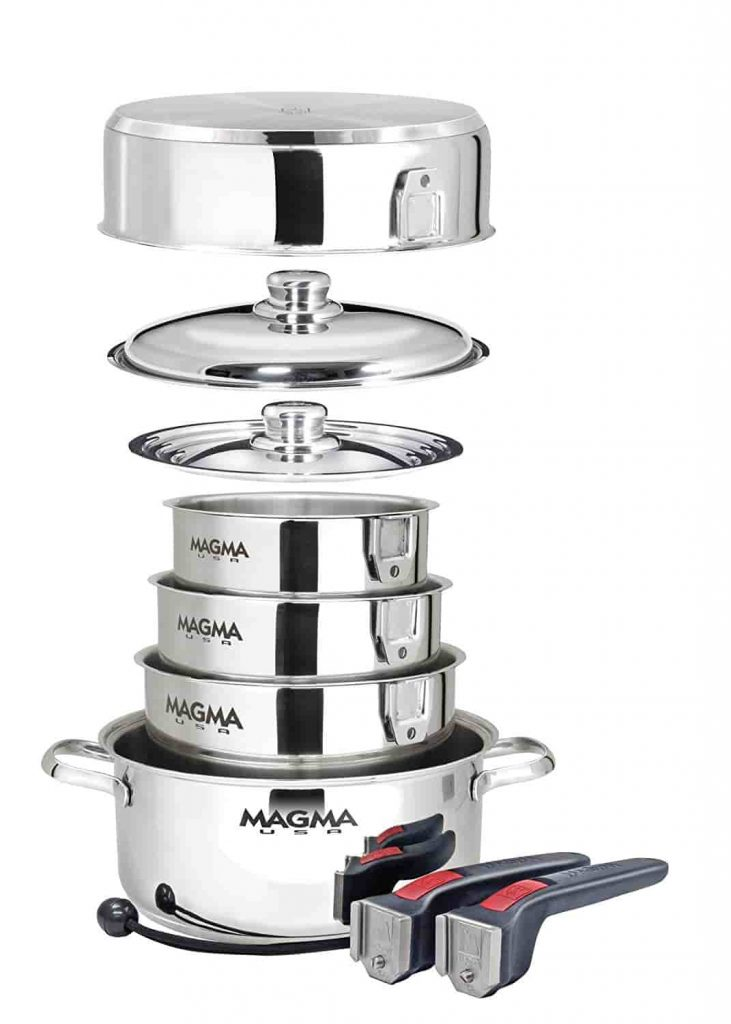 Best Induction Cookware Sets Magma Nesting