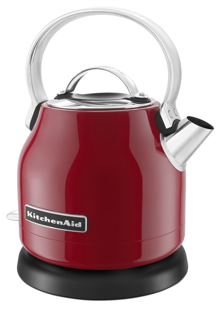 Kitchenaid red appliance electric kettle smaller