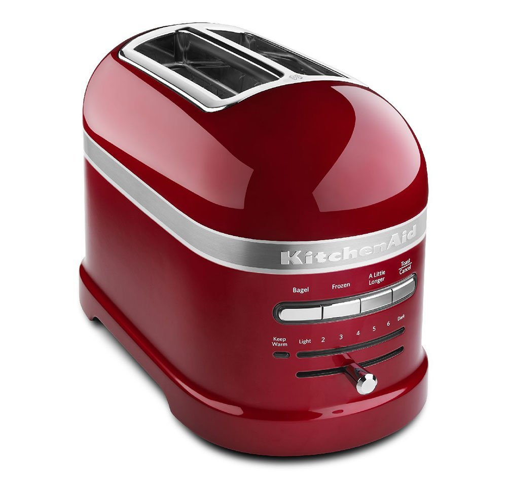 Kitchenaid red appliance toaster candy apple