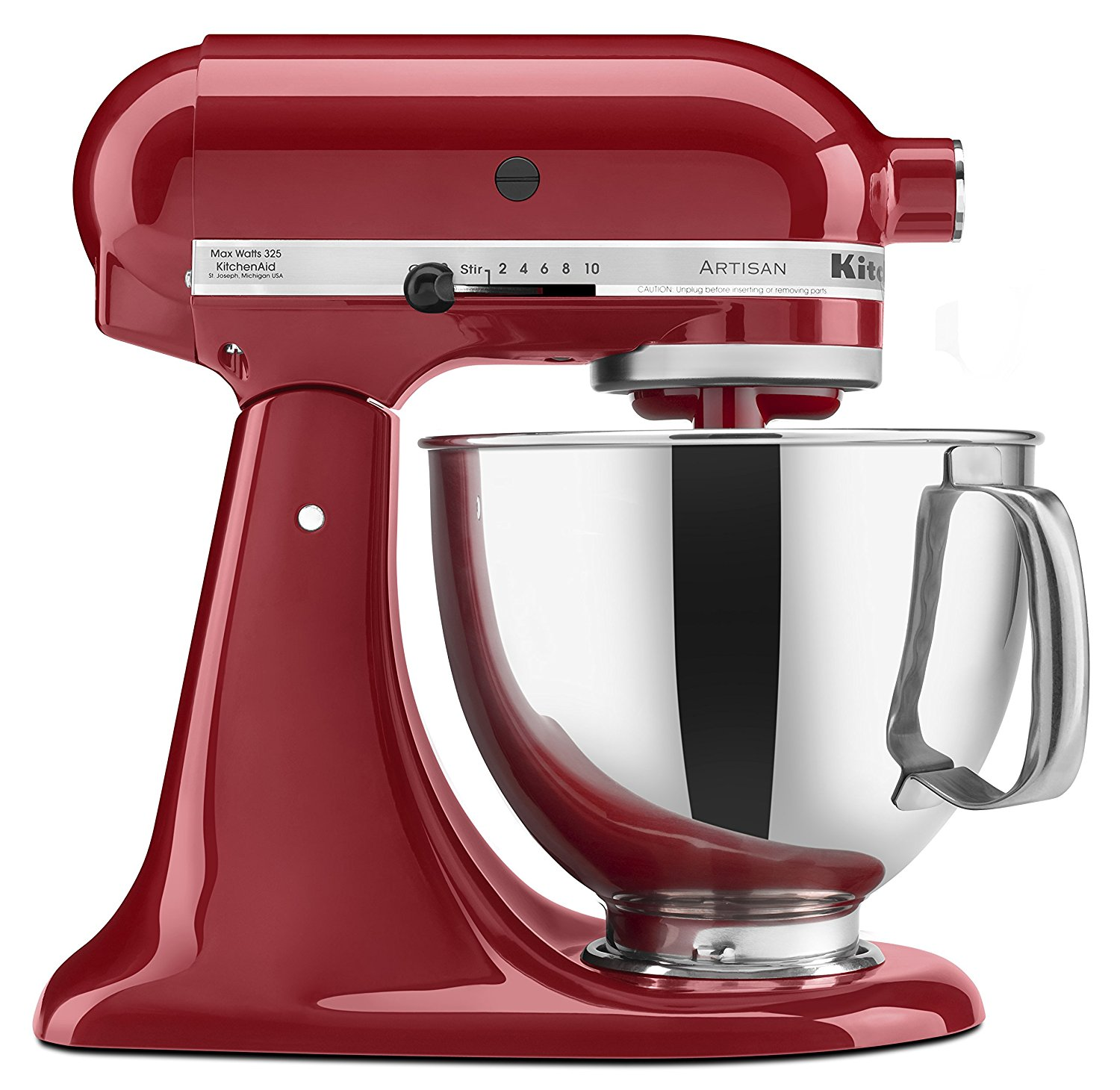 Kitchenaid red appliances mixer 5qt