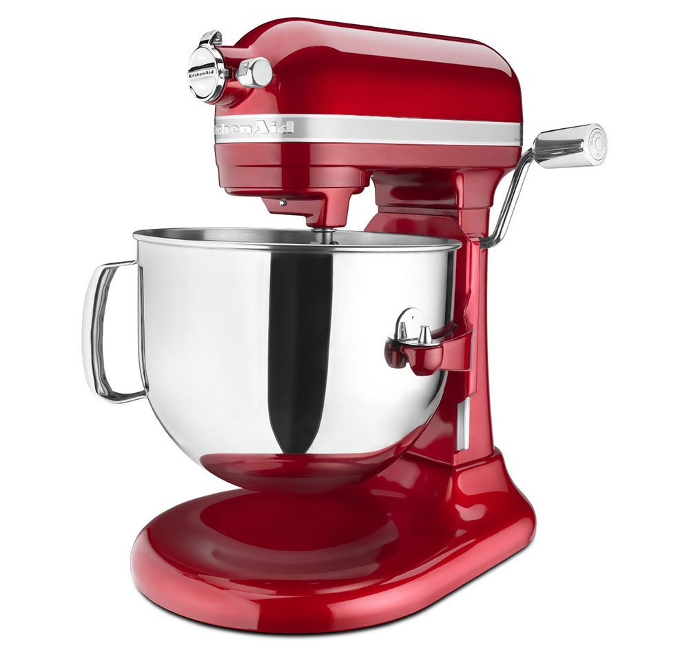 Kitchenaid red appliances mixer 7qt