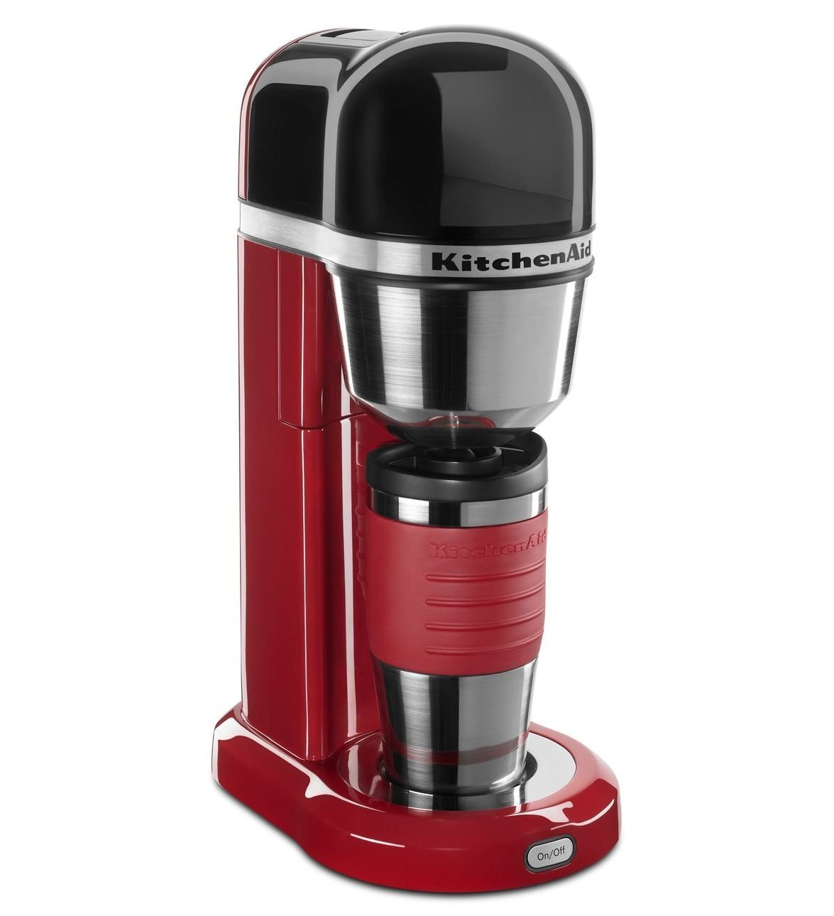 Kitchenaid red appliances personal coffee