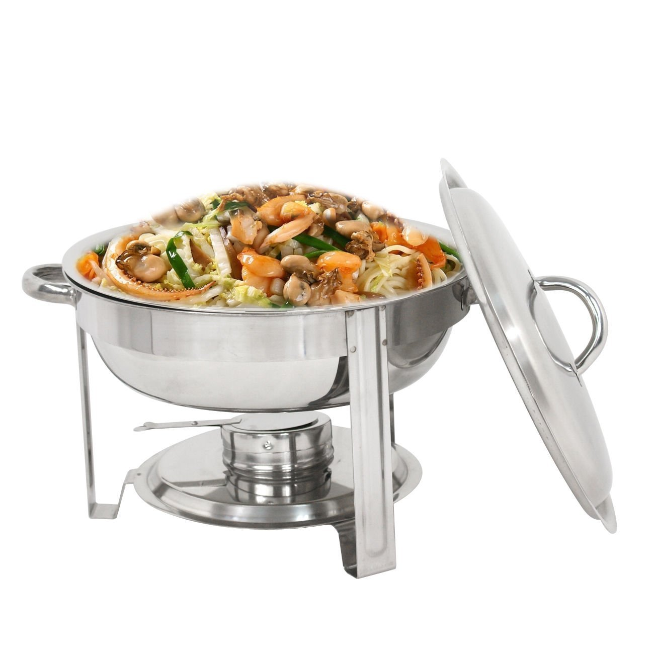 Round Chafing Dish Bang for Buck