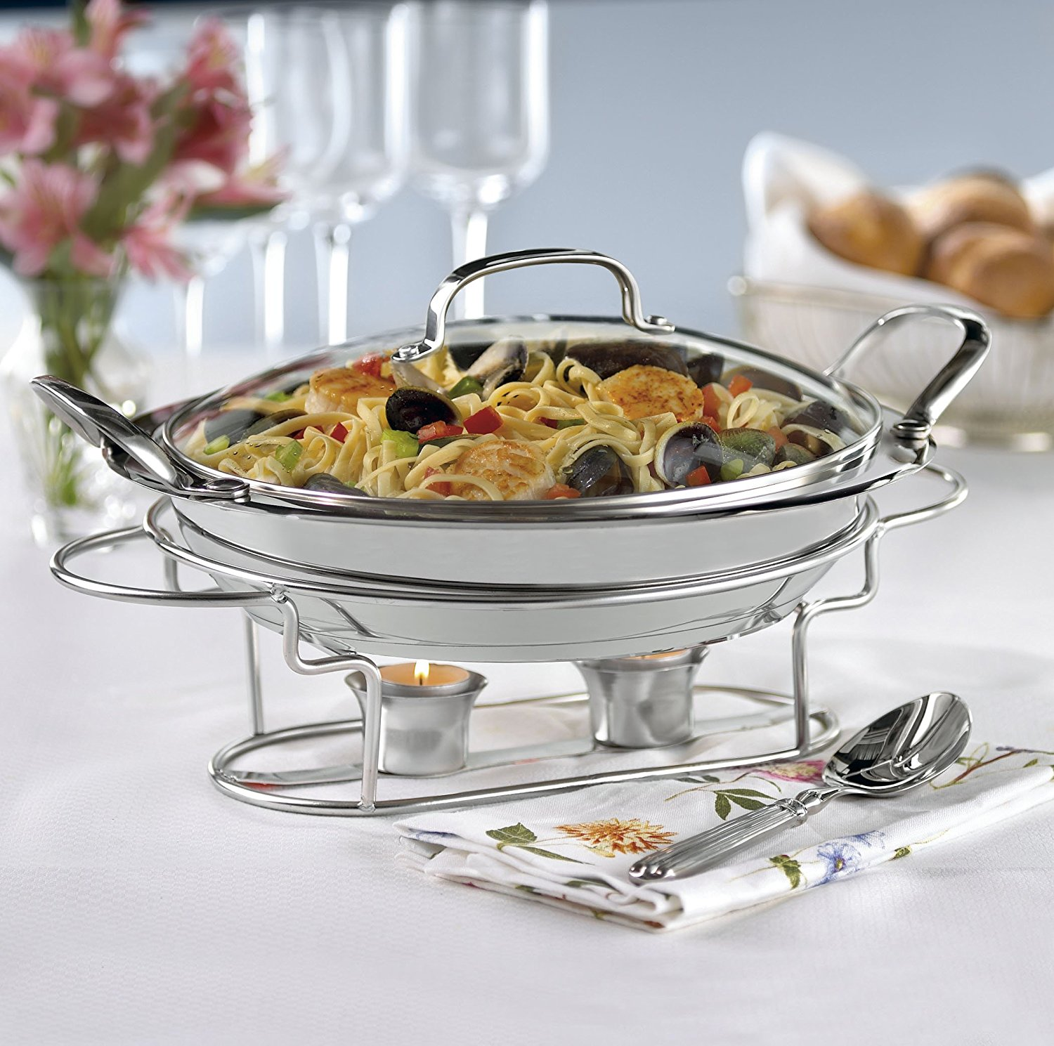 Round Chafing Dish Elegance Pic