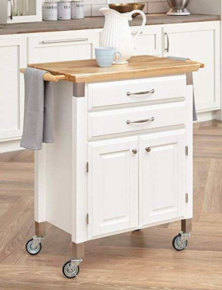 Kitchen Island White Small