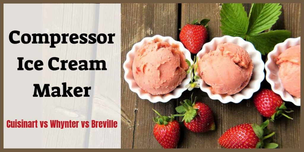 Compressor Ice Cream Maker header