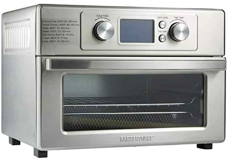 Air Fryer Toaster Oven with LCD screen